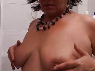 BBW Mature getting BBC ass almost indiscretion