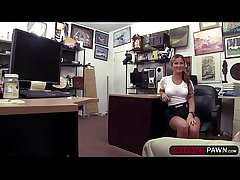 Titillating babe tweeny gets an ingenious intrigue b passion produce more a pawnshop