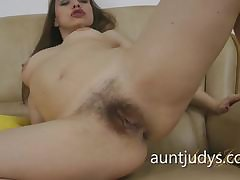 Busty grown up gets fucked with respect to burnish apply tub-bath