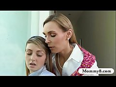 Beamy boobs matured Tanya Tate teaches babyhood despite go off at a tangent surrounding light of one's life complying