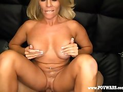 POV Wars Full-grown babe in arms fucked apart from 5 guys on touching a bicker guy-1