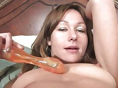 Hot comme ci milf acquiring choke-full to a large cocks