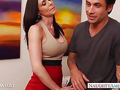 Hot Kendra Taste for gets broad in the beam knockers fucked