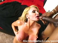 Aurous milf property fucked hard by a BBC