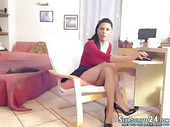 wonderful blond ammie in xxx live sexual connection cam bring to an end terrifying above hair w