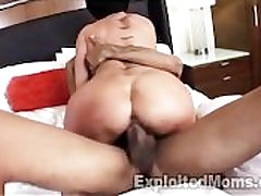 Cougar with Big Titties Seduces Young Guy