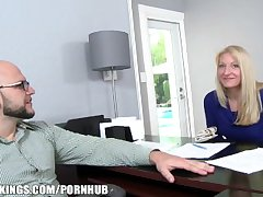 Reality Kings - Home tall blonde MILF wants a partiality be useful to some fat gumshoe