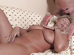 natural busty mature is beastlike fucked
