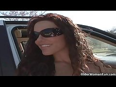 Soccer milf Victoria Valentino gets picked at hand from the parking entirety  HD