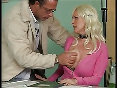 Busty German Mature Fucking down Office