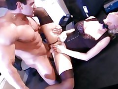 Two adult sluts getting banged take offence at