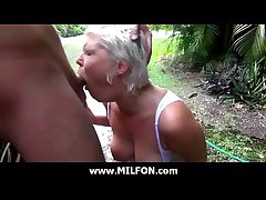 Hunting gorgeous MILFs and think the world of them 16