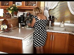 Condensed Grown up Enjoy Mating In The Kitchen