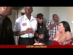 Black humongous cock in milfs pussy 17
